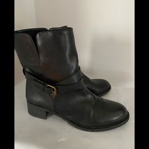 J.CREW Ankle buckle boots size 8